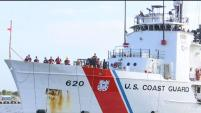 Una embarcación de la Guardia Costera de los Estados Unidos regresó a St.Petersburg luego de cumplir importantes misiones en el Mar Caribe.