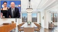 El actor Bruce Willis y su esposa están vendiendo su espacioso dúplex ., según los informes.