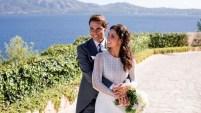 El enlace ocurrió el sábado en Sa Fortalesa, una finca situada en Pollença, al norte de la isla de Mallorca.