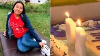 A cinco meses de su brutal violación y asesinato, la comunidad se junto para recordar a la menor. Detalles en el video.