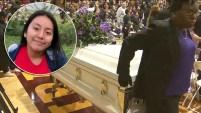 Familiares y amigos dieron el último adiós a la pequeña de 13 años, horas después que un sospechoso estaba tras las rejas. Te contamos lo último del caso.