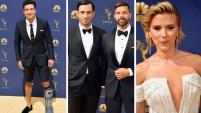 Gemelos, una embarazada y atrevidos escotes formaron parte de la alfombra de los Premios Emmy, celebrados el lunes y transmitidos por nuestra cadena hermana...