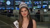 """Sofía Aragón desea que """"la corona se quede en casa""""."""