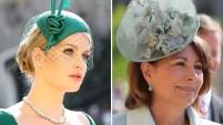 """La tradición inglesa indica que las invitadas a bodas con gran nivel protocolar deben llevar sobre sus cabezas los """"fascinators"""", sombreros pequeños o medianos..."""