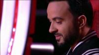 """En la cuarta noche de batallas de """"La Voz"""", Luis Fonsi con la voz quebrada tuvo que tomar una difícil decisión tras la prese..."""
