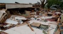 Los temporales no dan respiro en Texas y Oklahoma, castigados desde hace días por el mal tiempo. Aquí te mostramos las imágenes de la destrucción.