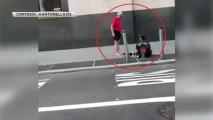 Gesto de bondad a desamparado conmueve en NYC. Noticias en tiempo real