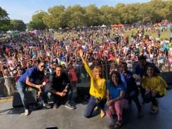 Gran fiesta latina en la Junta Hispana