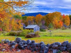 Impresionantes imágenes del otoño en Nueva Inglaterra
