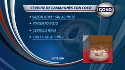 GOYA CEVICHE CAMARONES