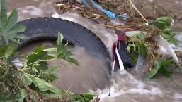 Basura de Tijuana podría causar desbordamiento de río