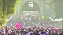 Caminata contra el cáncer de seno