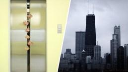 Quedan atrapados por horas dentro de ascensor de uno de los rascacielos más altos