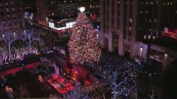 Encendido del árbol navideño de Rockefeller Center