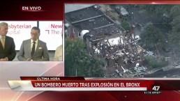 Explosión mortal en el Bronx deja seis heridos