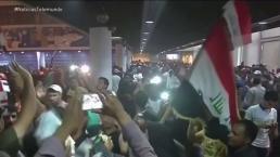Invaden zona verde de Bagdad