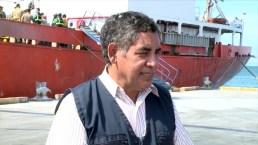 Buque llega desde Colombia con donaciones para damnificados