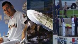 Fotos del accidente en que muere José Fernández