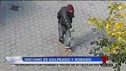 Atacan a anciano de 85 años en NY