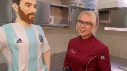 Crean un Messi de chocolate para su cumpleaños ¡Feliz día al astro argentino!