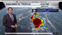 Sebastien podría convertirse en huracán