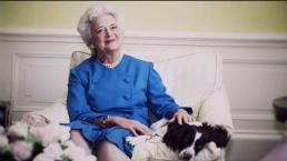 Solemne adiós a Barbara Bush