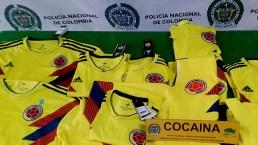 Sorpresa mundialista, envío de camisetas impregnadas de cocaína