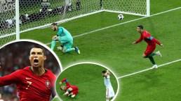 El gol de Cristiano Ronaldo que lo metió en la historia