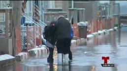 Terribles inundaciones en Queens