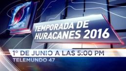 Prepárate para la temporada de huracanes
