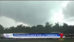 Tormentas severas causan estragos en nuestra área
