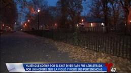 Investigan posible violación en Manhattan