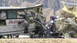 Tragedia: choque deja 13 muertos en California