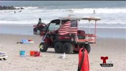 Advertencia de peligro en varias playas de nuestra área