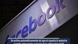 Falla de Facebook activa cámara de iphone