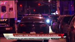 Hombre armado muere ultimado a tiros en Paterson