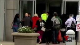 Decenas de heridos enviados al centro médico de Jersey City