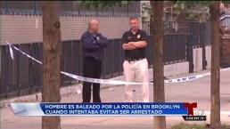 Hombre es baleado por la policía en Brooklyn