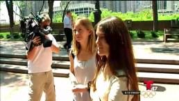 Turistas recuperan miles de dólares tras perderlos en el tren