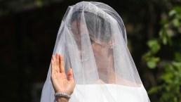 Meghan Markle revela el secreto de su vestido de novia