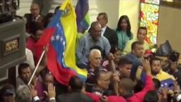 Tensión en la Asamblea Nacional de Venezuela