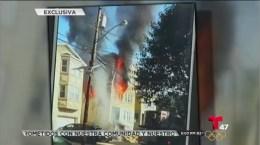 5 bomberos heridos en siniestro de Nueva Jersey