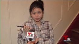 Video: Joven es acuchillada en la cara