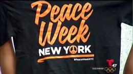 Campaña contra la violencia en Nueva York