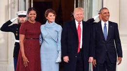 Sale Obama, entra Trump: mudanza en tiempo récord
