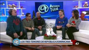 Acceso Total juntos a comediantes de la Rep. Dominicana
