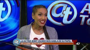 """Actriz Jeimy Osorio nos habla de su rol en """"Betty en NY"""""""