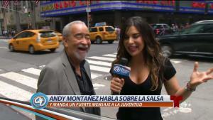 Andy Montañez habla sobre la evolución de la salsa