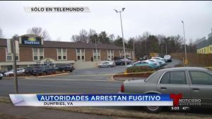 Arrestan fugitivo en el Condado Prince William