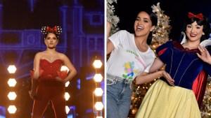 Becky G arranca la temporada navideña en Disney
